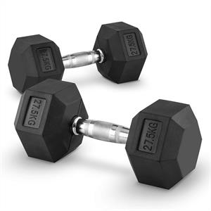 Capital Sports Hexbell 27.5 Dumbbell 27.5 kg