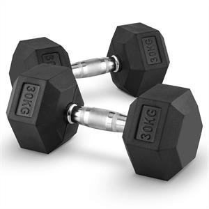 Capital Sports Hexbell 30 Dumbbell 30 kg