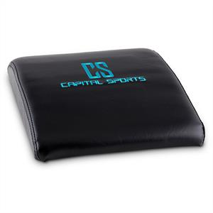 Capital Sports Ab Trainer Back Trainer Mat Sit-Ups Black