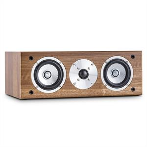 auna Line 501 CS-WN Passive Centre Hifi Speaker 120W Walnut