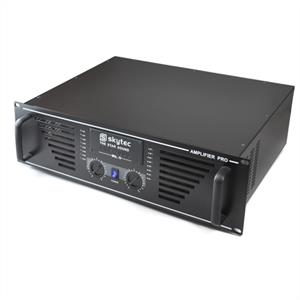 "Skytec PRO-2000 Watt DJ PA Amplifier 19"" Rack Mountable - Black"