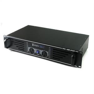"Skytec PA-480 Watt DJ PA Amplifier 19"" Rack Mountable - Black"
