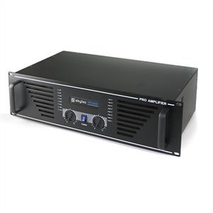 "Skytec PA-600 Watt DJ PA Amplifier 19"" Rack Mountable - Black"
