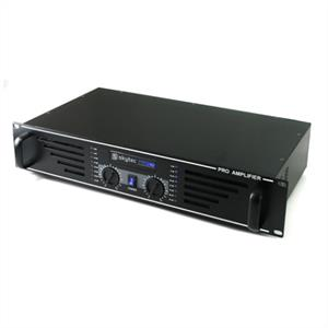"Skytec PA-240 Watt DJ PA Amplifier 19"" Rack Mountable - Black"