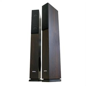 Beng Pair Floor Standing LB4707 4 Way Speakers 960 Watts - Brown