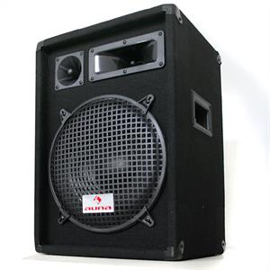 "Auna PW-1222 3 Way Speaker 12"" 600W"
