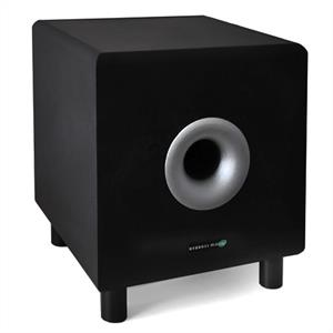 """Hyundai Multicav Black 10"""" Active Home Theater Subwoofer 120W"""