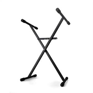 Keyboard Stand Black Metal Adjustable
