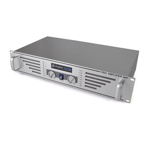 "Skytec PA-240 Watt DJ PA Amplifier 19"" Rack Mountable - Silver"