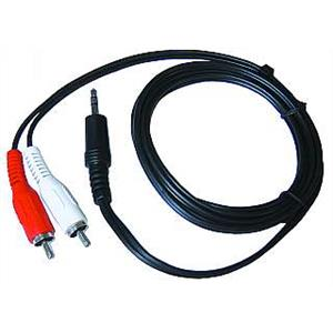 RCA to 3.5mm jack cable for audio devices